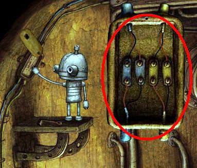 Is this a bug ?????? [crossed wires in The Furnace Room] Wiring Puzzle on