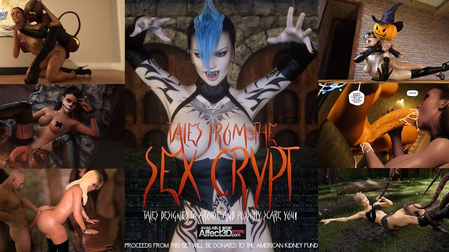 Tales from the Sex Crypt 3D Adult Comics