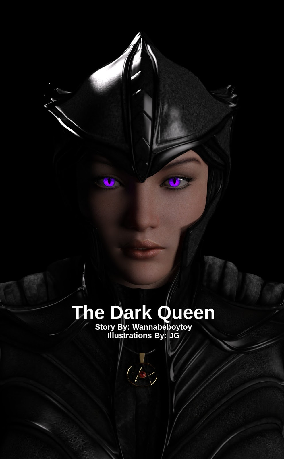 The Dark Queen 3D Adult Comics
