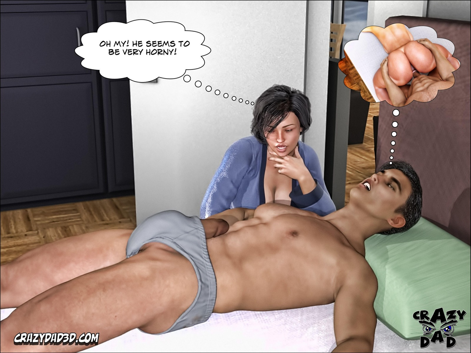 Mother, Desire Forbidden 3 Comic
