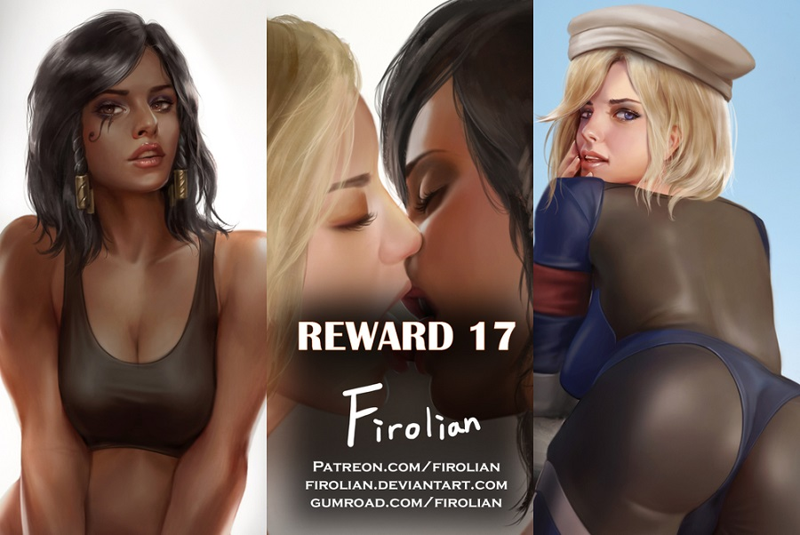Reward 13-14,17-18 Adult Comics