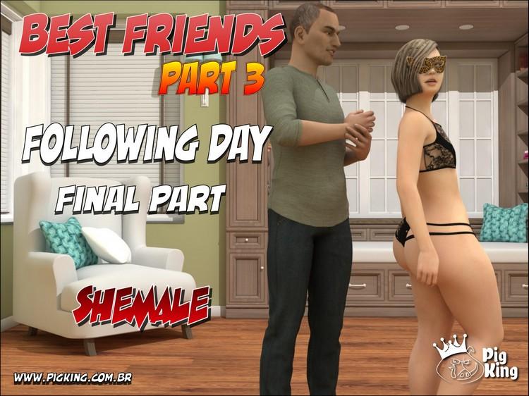 BEST FRIENDS PART 3 - PIGKING 3D Adult Comics