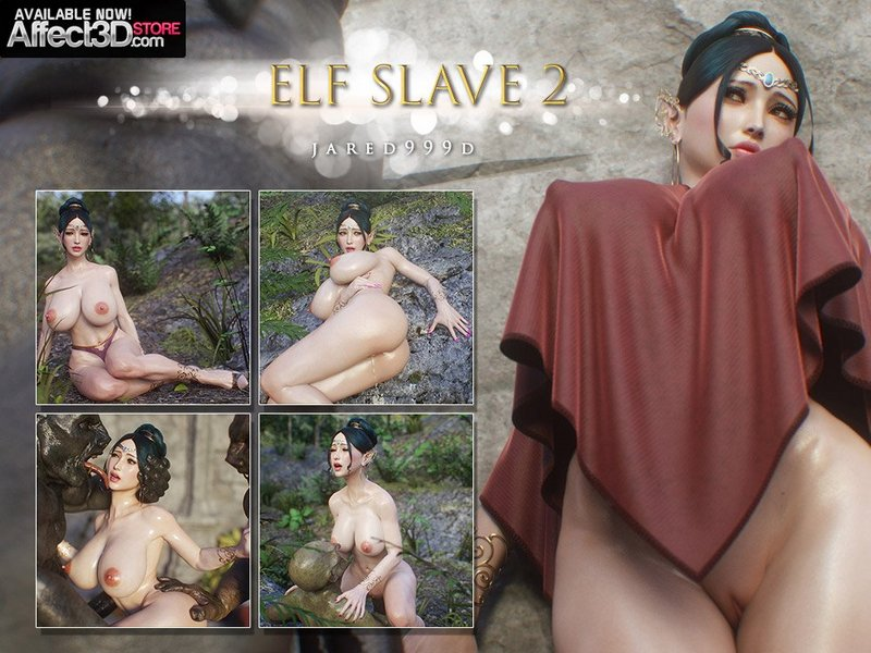 Elf Slave 2 3D Adult Comics