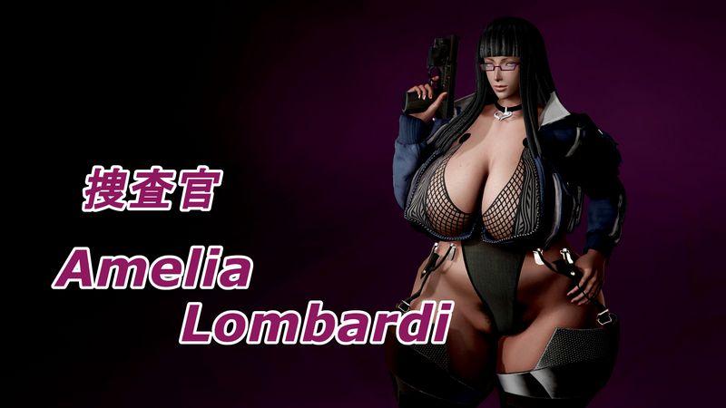 Sousakan Amelia 3D Adult Comics