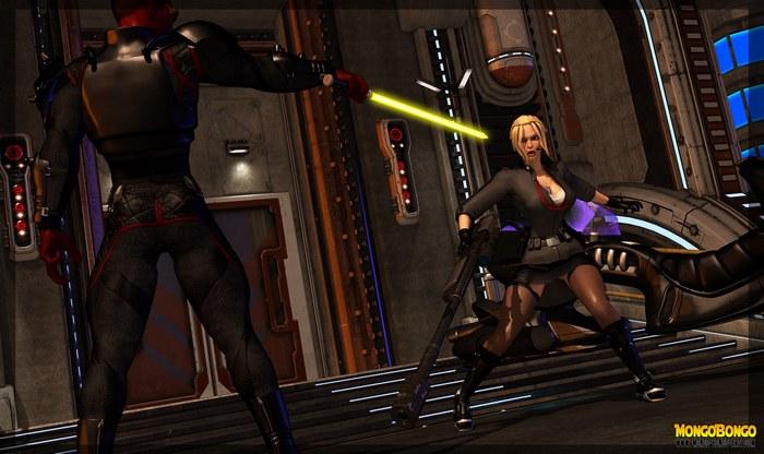 Imperial Agent Sniper 3D Adult Comics