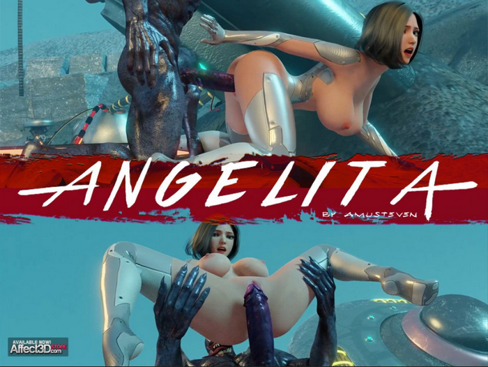 ANGELITA 3D Adult Comics