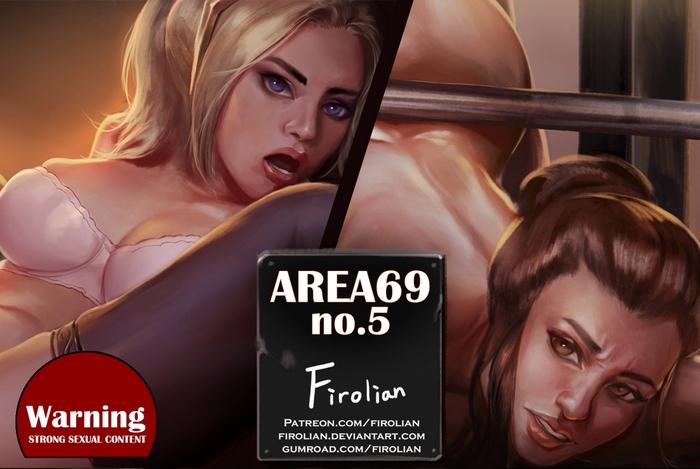 Area69 no.5 - Mercy & Brigitte Adult Comics