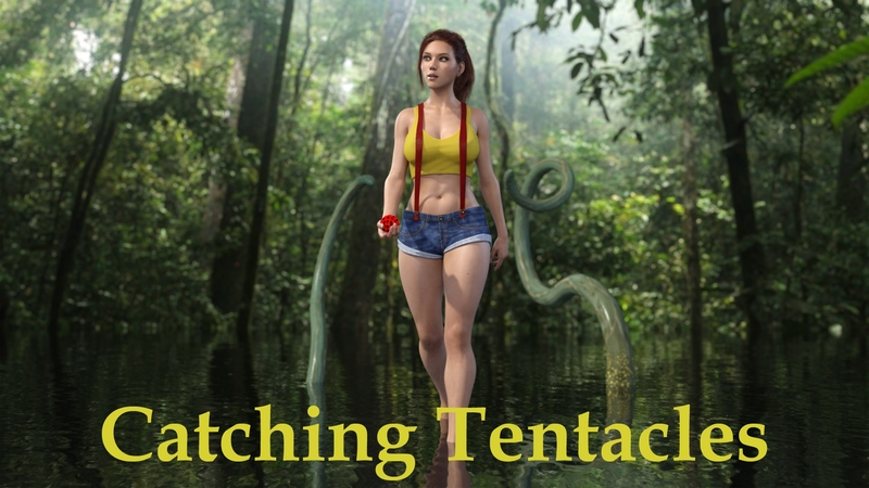 CATCHING TENTACLES 3D Adult Comics