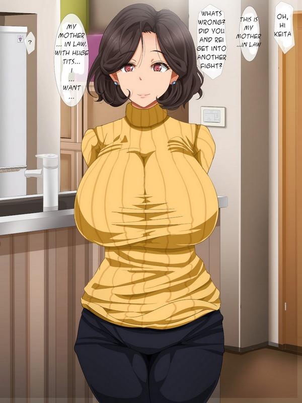 Cheating Step Mom Hentai Manga