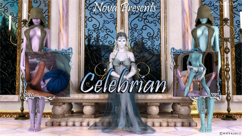 Celebrian - Story of Femdom Loving Elf Queen 3D Adult Comics