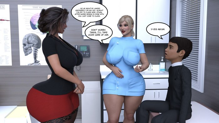 Consequences 3D Adult Comics