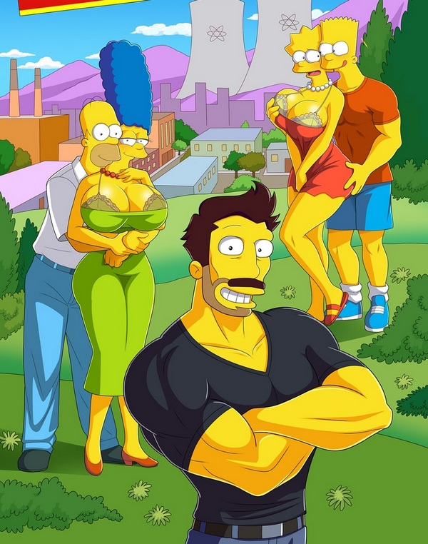 SIMPSONS DARRENS ADVENTURE XXX Adult Comics