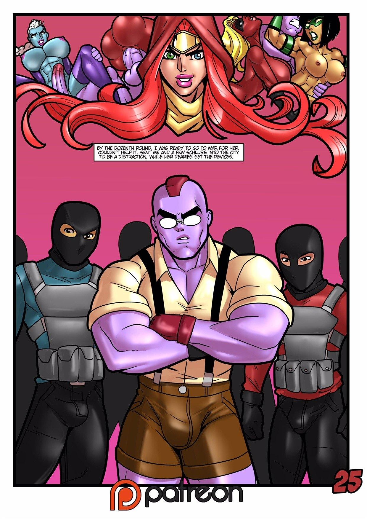 Rabies - Kiss of the Crimson Dahlia Comic