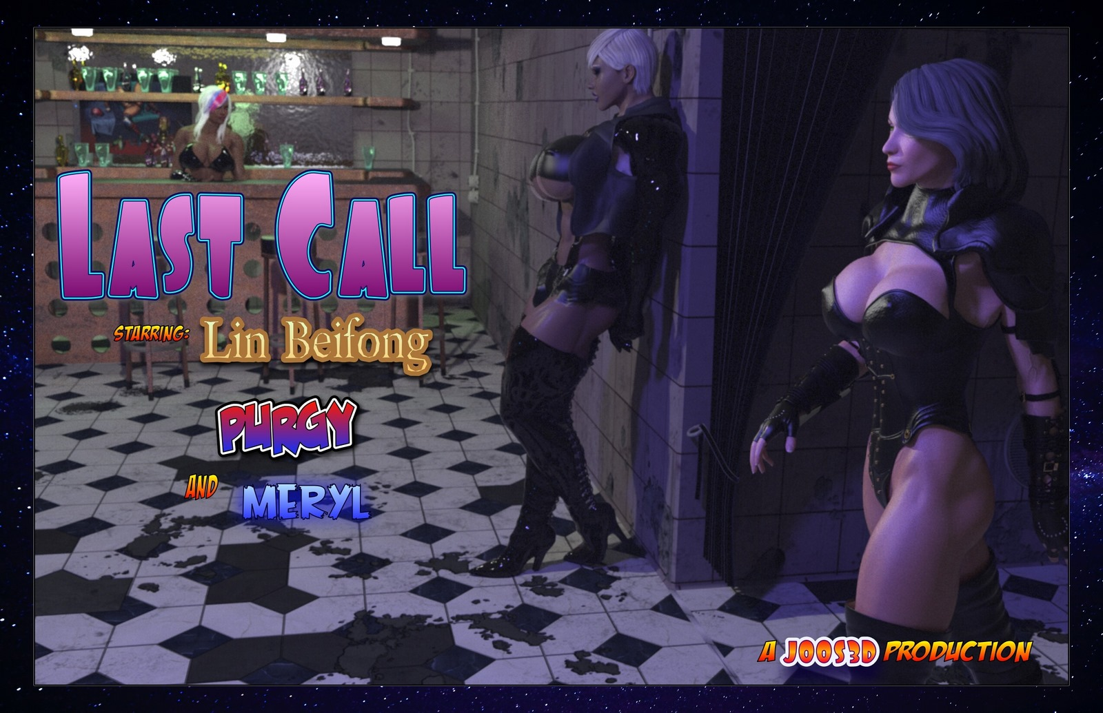 Purgy And Meryl – Last Call 3D Adult Comics