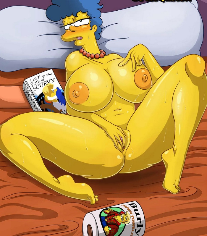 Simpsons - Marge's Erotic Fantasies Adult Comics