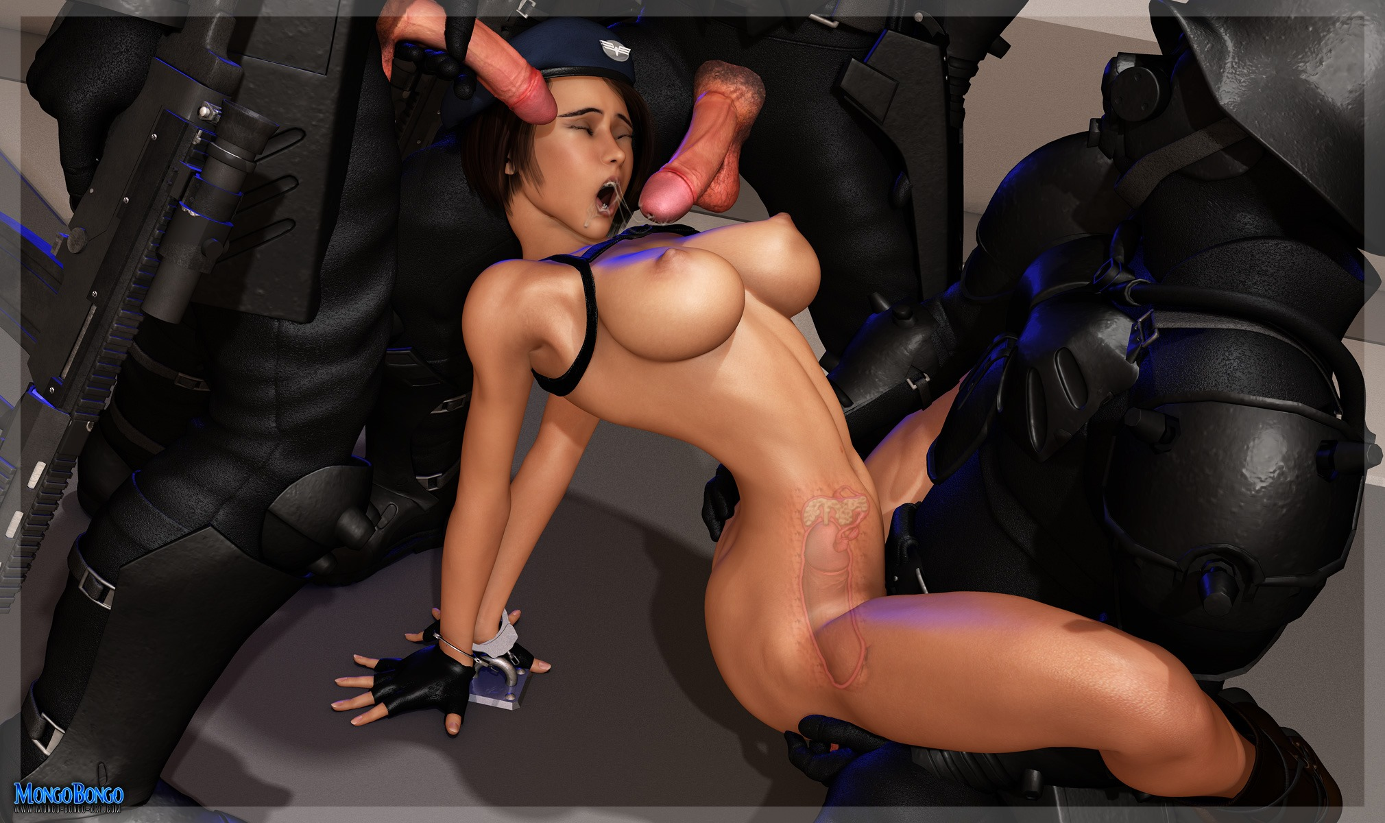 Free Download 3D Adult Comics  Resident Evil Valentine's Day 3