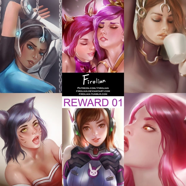 Firolian - Reward 1 Comic