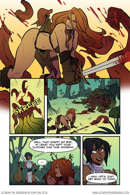 Kumi Pumi - Rowena the Barbarian