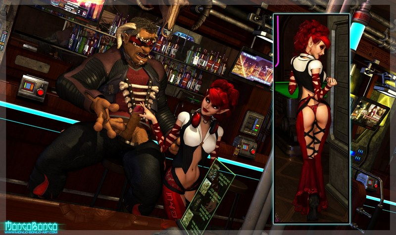 Shadowrun After Hours 3D Adult Comics
