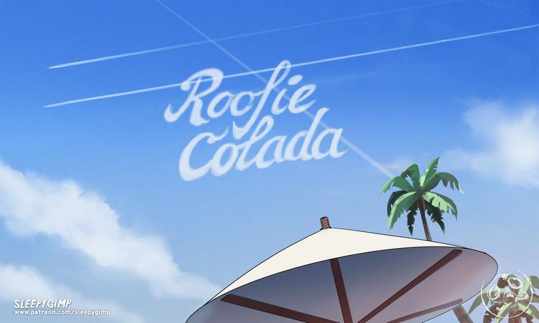 Roofie Colada Adult Comics