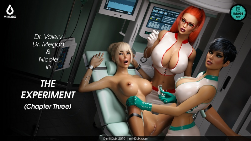 The Experiment Chapter Three (Comic set + Image set + Animations: 10 HD GIFs)