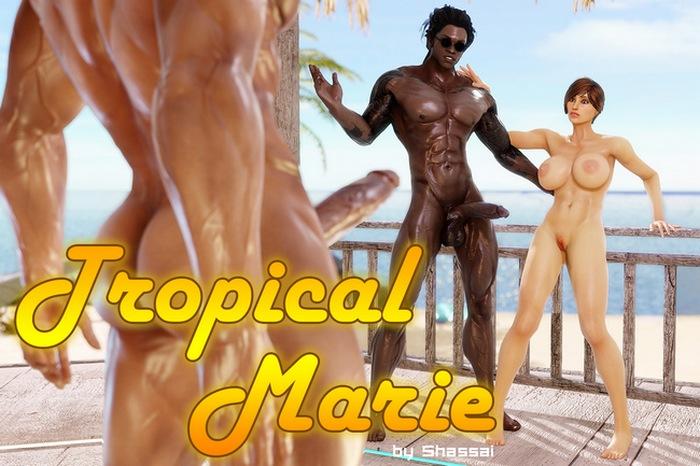 Tropical Marie 3D Adult Comics