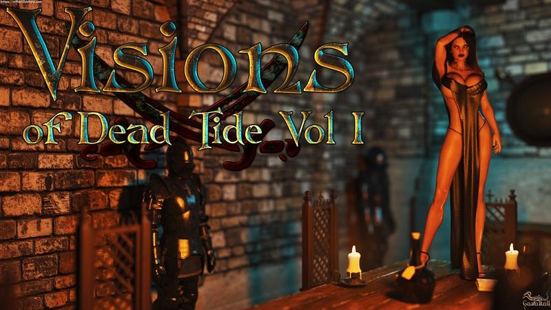 Visions of Dead Tide Vol 1 3D Adult Comics