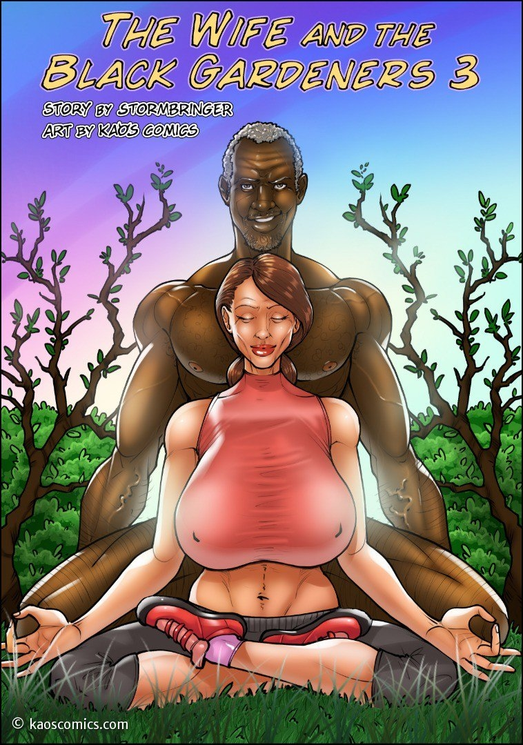 The Wife And The Black Gardeners 3 Adult Comics