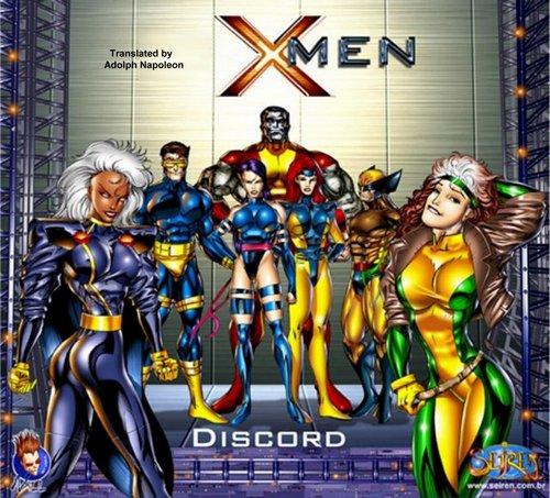 X-men Discord Adult Comics