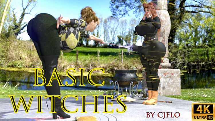 Basic Witches 3D Adult Comics