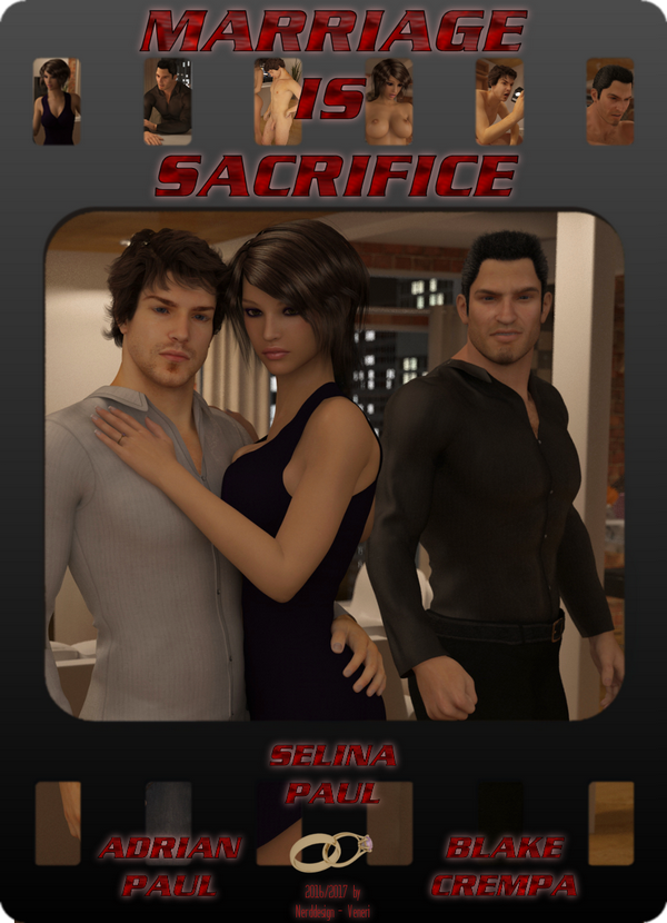 Marriage is Sacrifice 3D Adult Comics