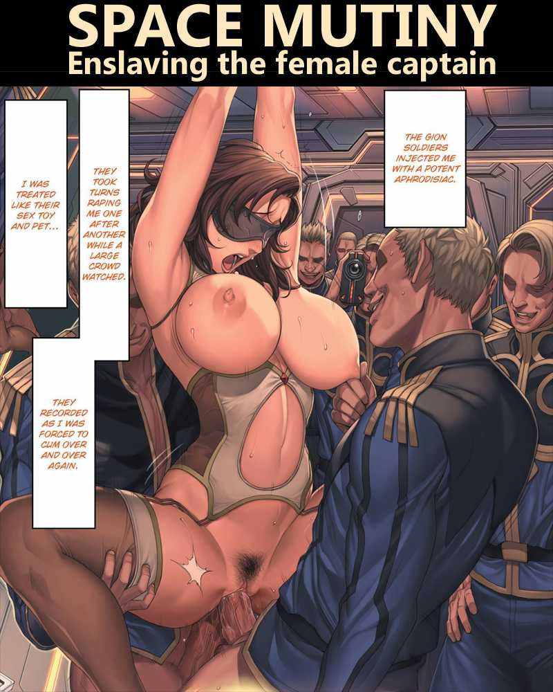 Space Mutiny Enslaving The Female Captain Hentai Manga