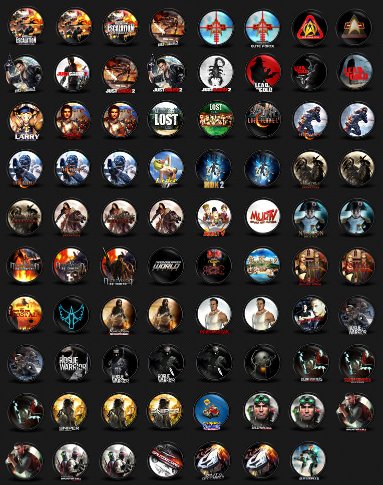 [Aporte] +2200 Iconos Gamers + Megabonus