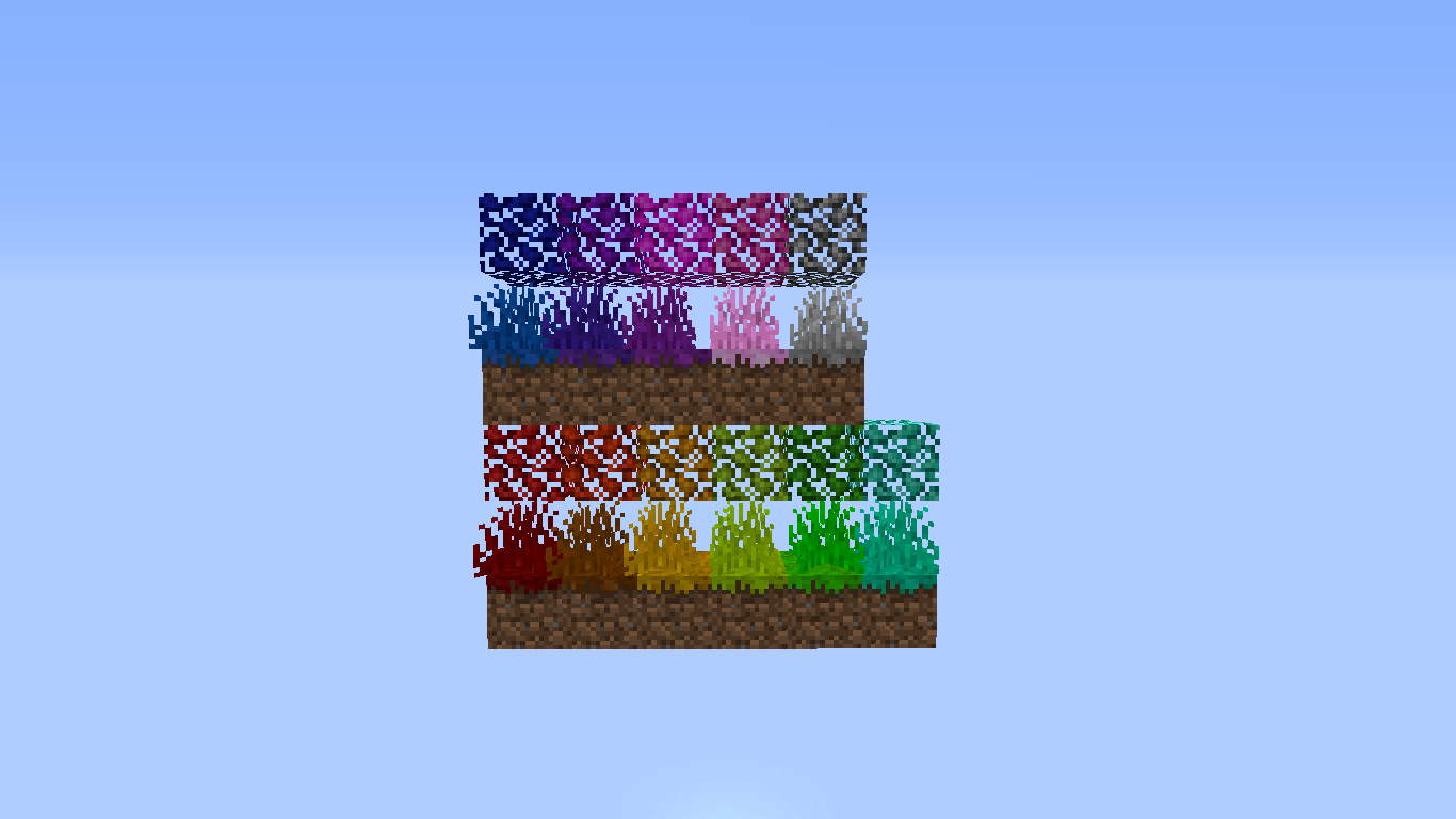 Colored Grass