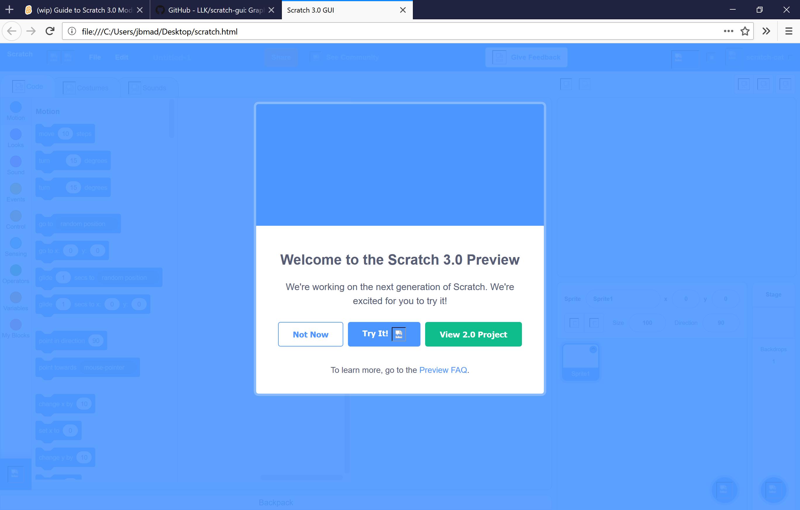 Guide to Modding Scratch 3 0 - Discuss Scratch