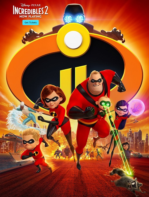Incredibles 2 [HQ-DVDScr] Tamil Movie Free Download Site TamilRockers Torrent