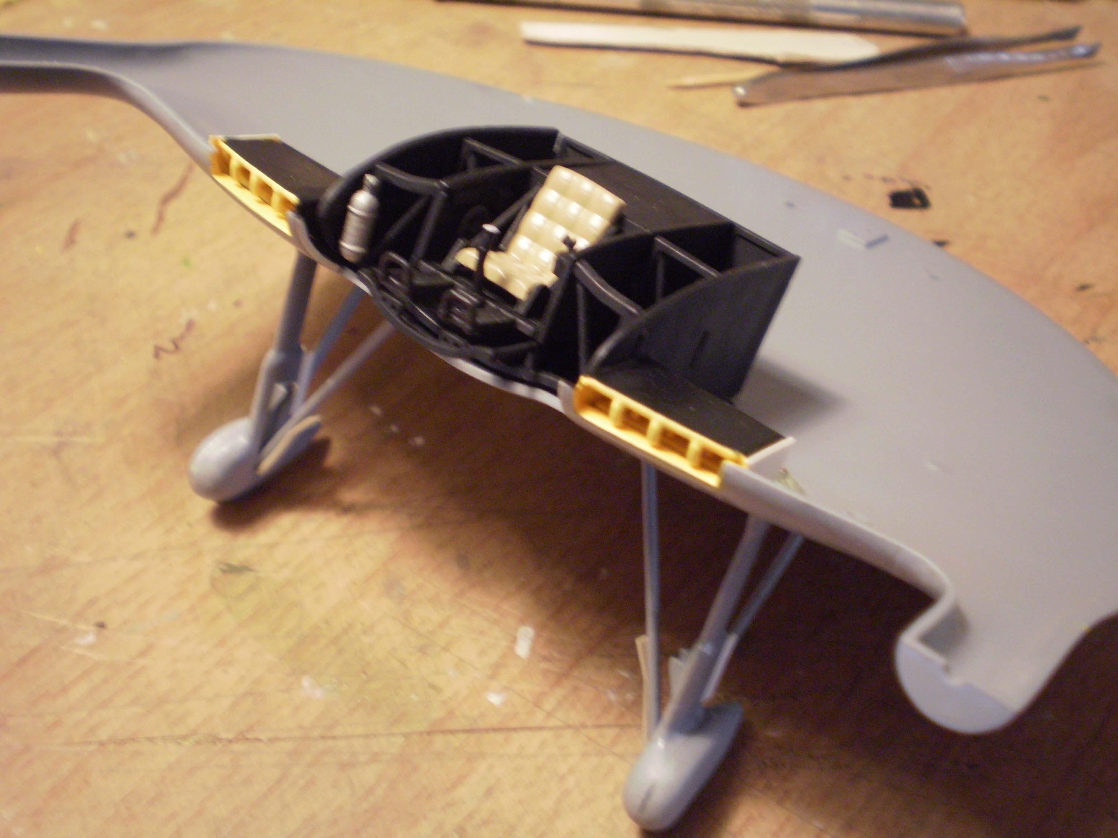 V-173 cockpit assembly.