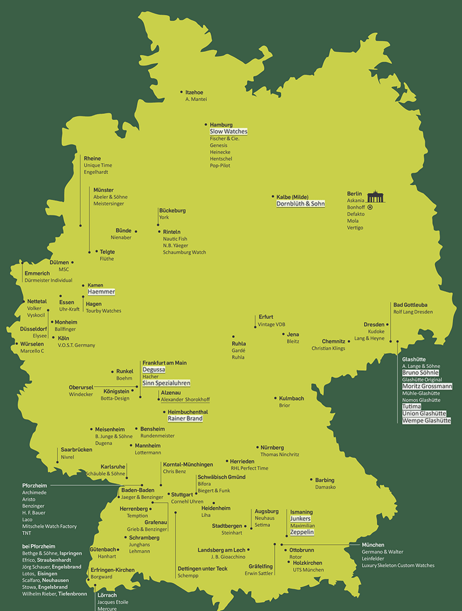 German Brands on the Map
