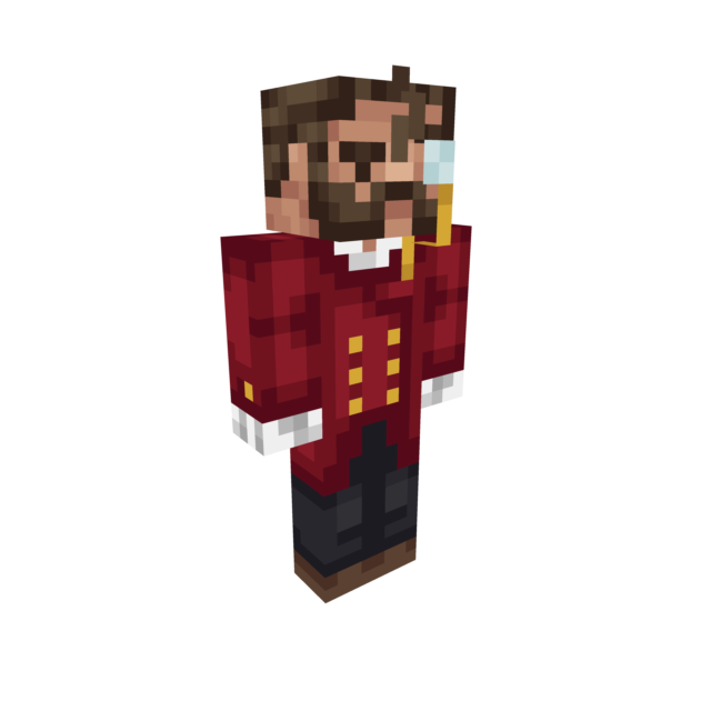 Reginald God Of Gentlemen Minecraft Skin