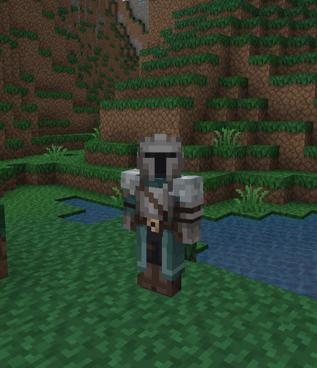 New skin (with new format) based on Dark Souls 2 : Minecraft
