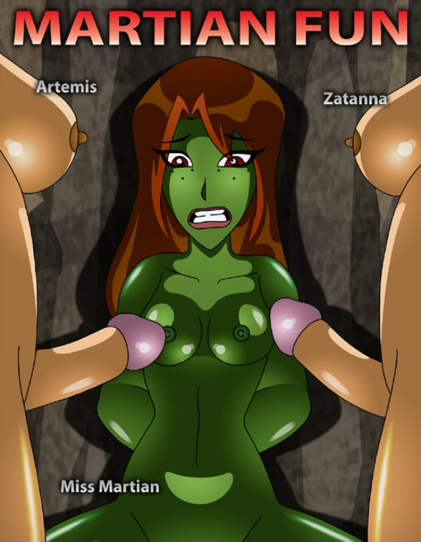 Porn Miss martian and artemis