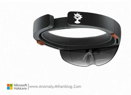 آنومالی - عینک مایکروسافت