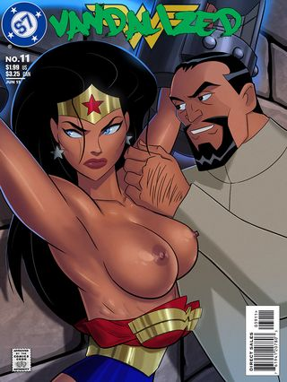 Vandalized (Justice League) Adult Comics