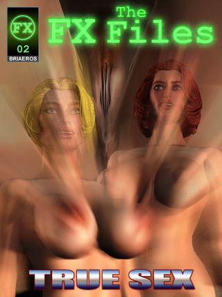 Briaeros - The FX Files - True Sex 3D Adult Comics