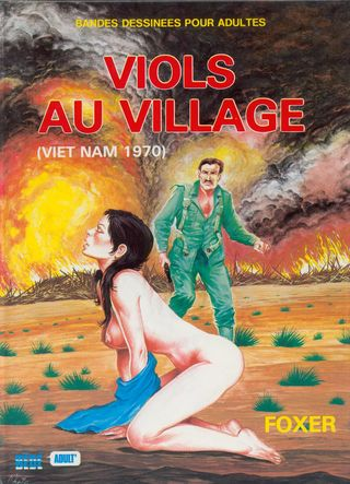 Viol au Village [French] Adult Comics