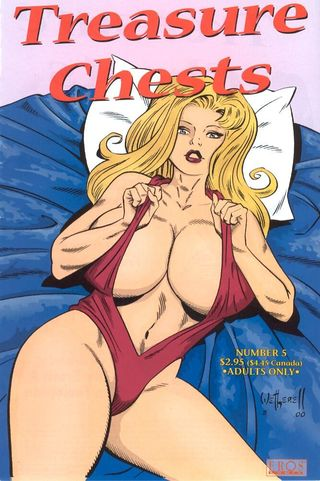 Art Wetherell -  Treasure Chests #5 Adult Comics