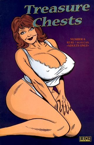 Art Wetherell - Treasure Chests #6 Adult Comics