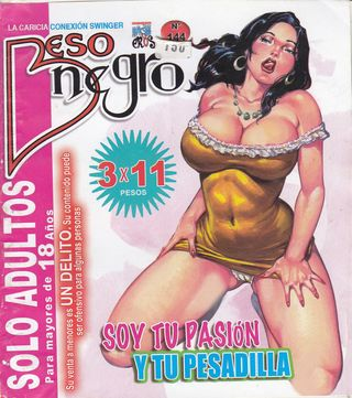 XXX Mexican Comic Beso Negro #144 Spanish Comic