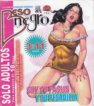 XXX Mexican Comic Beso Negro #144 [Spanish] - Adult Comics, Cunnilingus