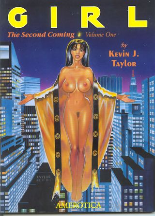 Kevin J Taylor - Girl - The Second Coming 1 COMIC